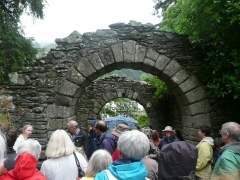 Gateway to Glendalough, through which pilgrims (and Anglo-Saxonists) enter
