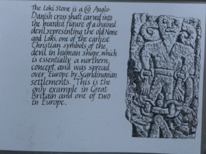 Kirkby Stephen Loki/Satan plaque