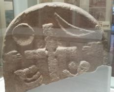 Lindisfarne Museum Cross