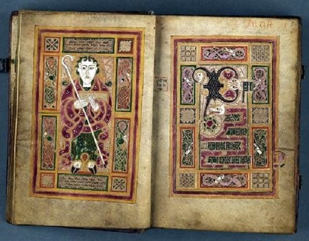 McDurnan-Gospels Mathew